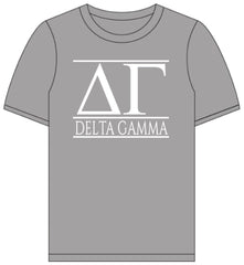 Delta Gamma // Short Sleeve (Greek Letters) T-Shirt