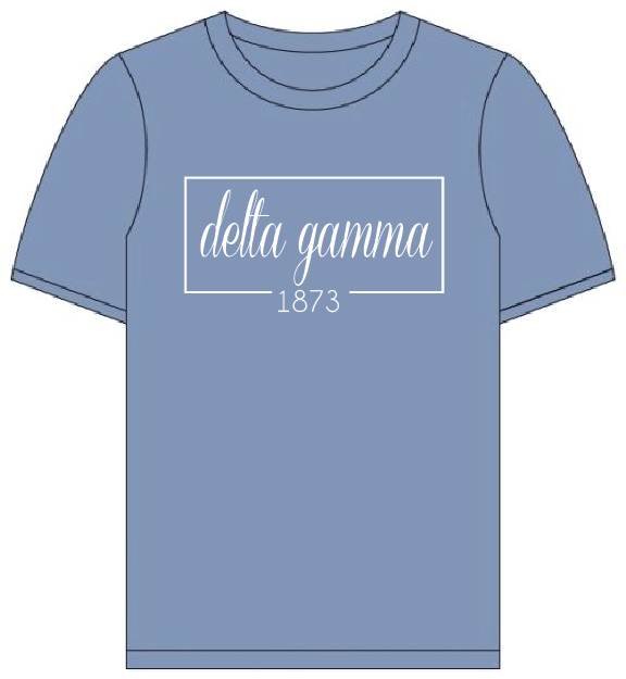 Delta Gamma // Comfort Color Short sleeve (Coneria) T-shirt