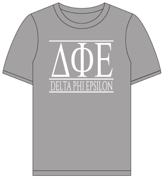 Delta Phi Epsilon // Short Sleeve (Greek Letters) T-Shirt