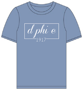 Delta Phi Epsilon // Comfort Color Short sleeve (Coneria) T-shirt