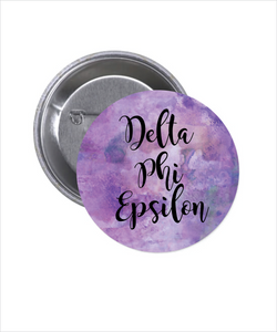 DELTA PHI EPSILON BUTTON 2