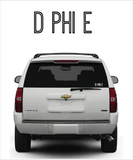 "DPhiE ""Ostrich"" decal"