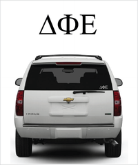 DPhiE Symbol Decal