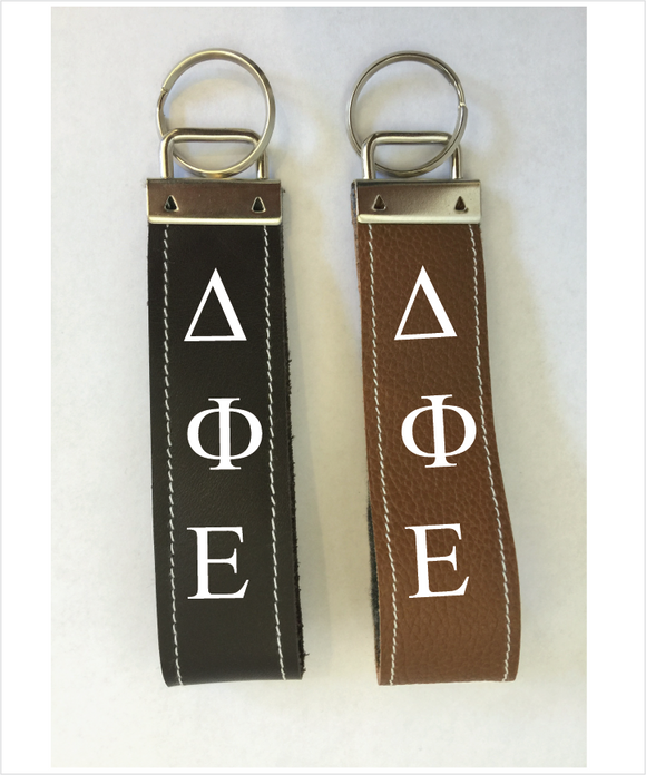 DPhiE Leather Keyfob