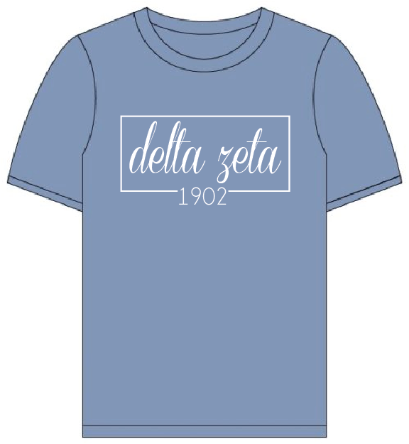 Delta Zeta // Comfort Color Short sleeve (Coneria) T-shirt
