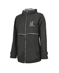 Delta Gamma // Charles River Full Zip Rain Jacket (New Englander)