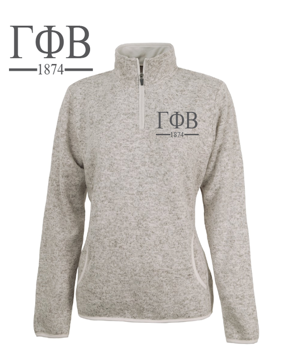 Gamma Phi Beta // Charles River Heather Pullover