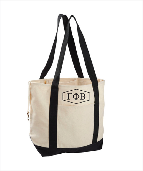 Gamma Phi Beta Canvas Tote Bag