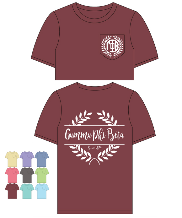 Gamma Phi Beta Comfort Color Frocket(Nobilis)