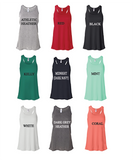 Chi Omega // Bella Flowy Tank Top (Notera)