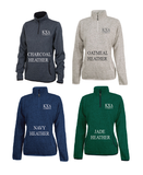 Alpha Chi Omega // Charles River Heather Fleece Pullover