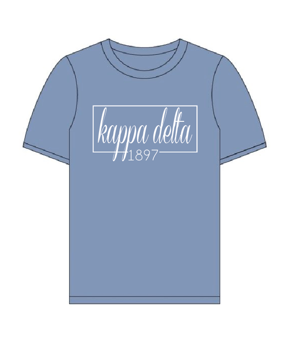 Kappa Delta // Comfort Color Short sleeve (Coneria) T-shirt