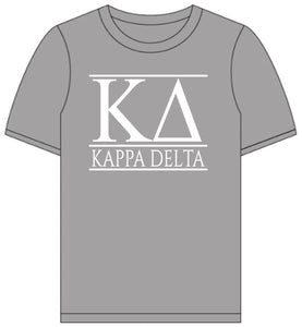 Kappa Delta // Short Sleeve (Greek Letters) T-Shirt