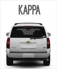 "Kappa ""Ostrich"" decal"