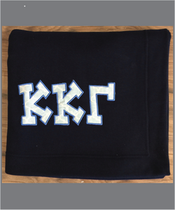 Kappa Sorority Sweatshirt Fleece Blanket