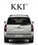 Kappa Symbol Decal
