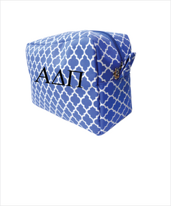 ADPi Embroidered Cosmetic Bag