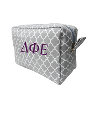 DPhiE Embroidered Cosmetic Bag