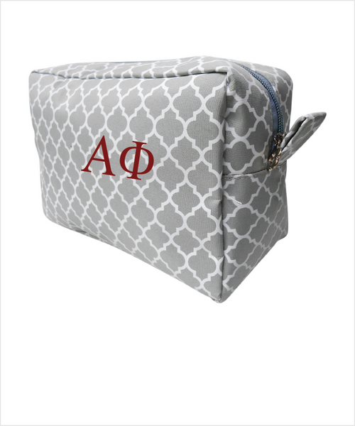 APhi Embroidered Cosmetic Bag