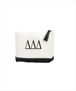 TriDelt Ebroidered Makeup Bag