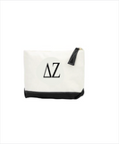 DZ Embroidered Makeup Bag