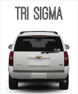 "TriSig ""Ostrich"" decal"