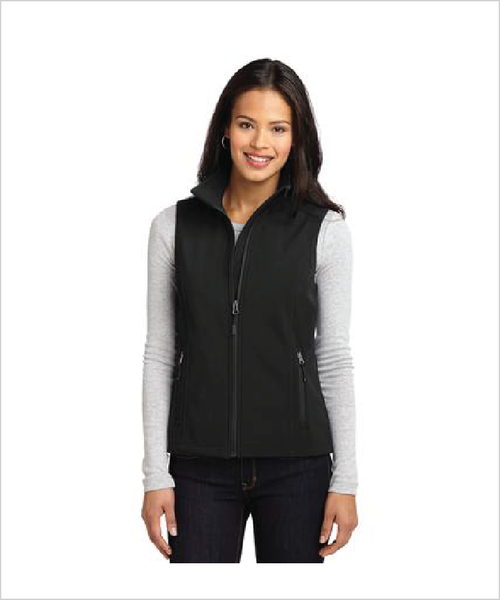 Silver Stirrups Ladies Soft Shell Vest