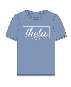 Kappa Alpha Theta // Comfort Color Short Sleeve (Coneria) T-shirt