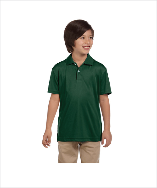 Silver Stirrups Youth Short Sleeve Polo