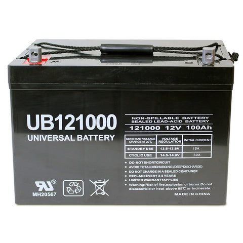 12V 100AH AGM Sealed Battery