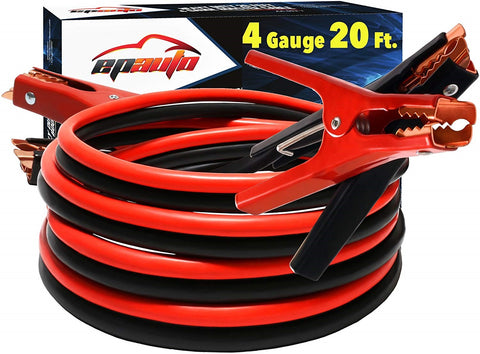 4 Gauge 20 foot jumper cables
