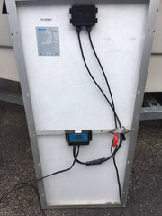 Back Solar Panel for Boat