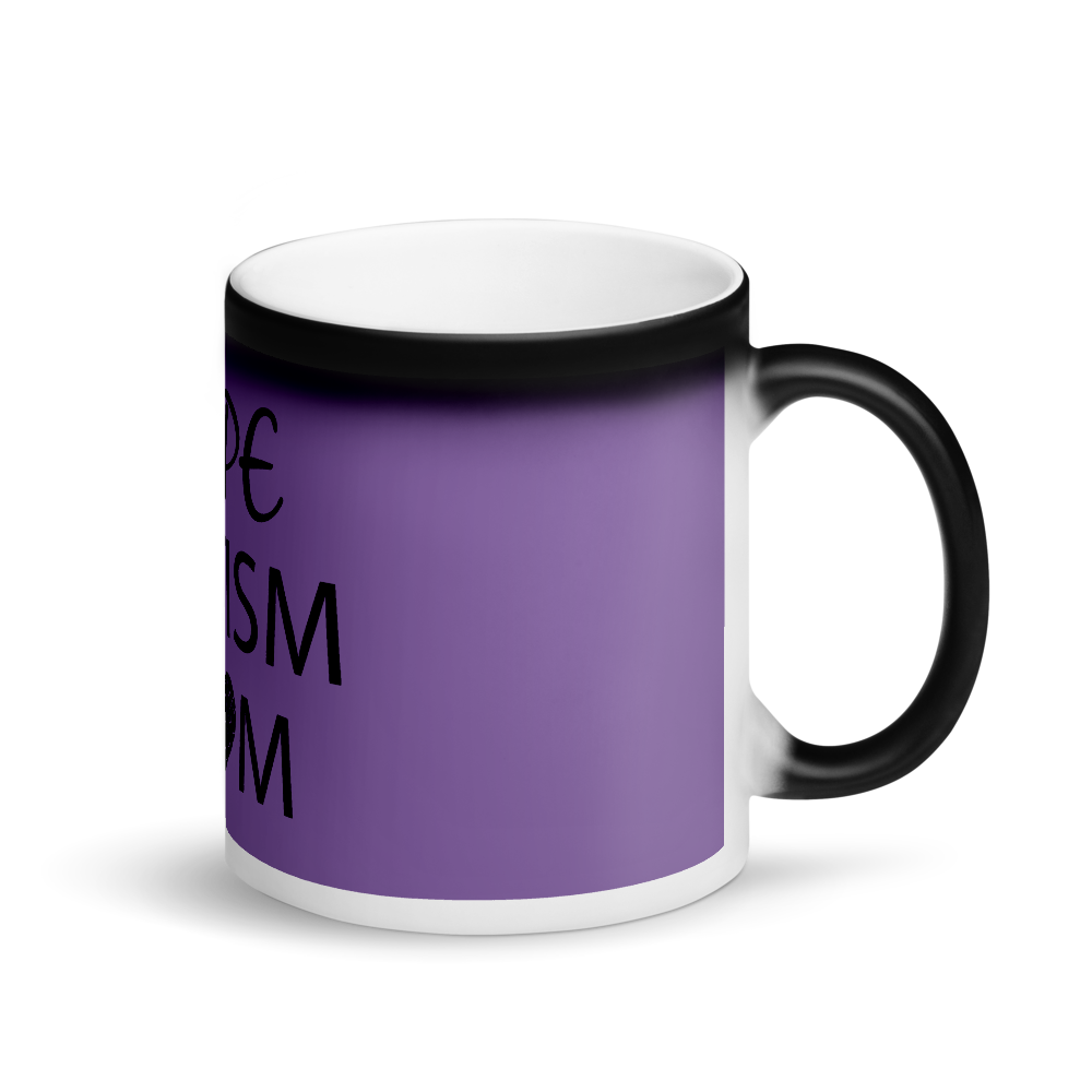 DOPE AUTISM MOM: MAGIC MUG~PURPLE