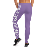 DOPE AUTISM MOM LEGGINGS: PURPLE
