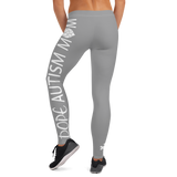 DOPE AUTISM MOM LEGGINGS: GREY