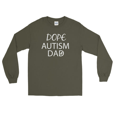 'Dope Autism Dad'- Long Sleeve T-Shirt