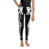 SKELETON LEGGINGS: YOUTH