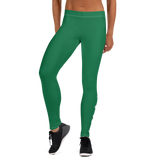DOPE AUTISM MOM LEGGINGS: GREEN