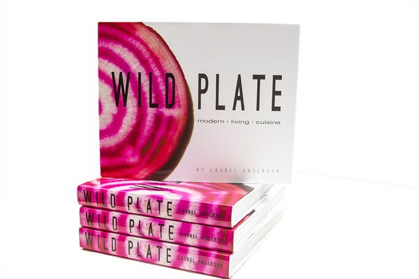Wild Plate: modern living cuisine - limited edition cloth cover/signed