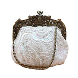 Steampunk Vintage Beaded Evening Bag: 8 Styles to choose from