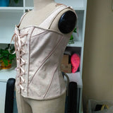 Vintage Victorian Steampunk Bustier or Corset Waist Trainer - You Won't Want To Cover This Up!