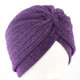 1940's Knot Twist Turban Headwear Are Streetwear Style Inspired Hats: 10 colors
