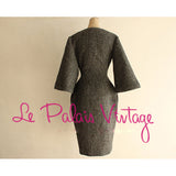 Le Palais Vintage (Limited Edition) Noble Elegant Grey W/Bell Sleeved Coat