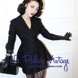 Le Palais Vintage( limited edition) Daring Double Breasted Jacket and Skirt Set