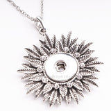 Rhinestone Snap Necklace in 20 Styles