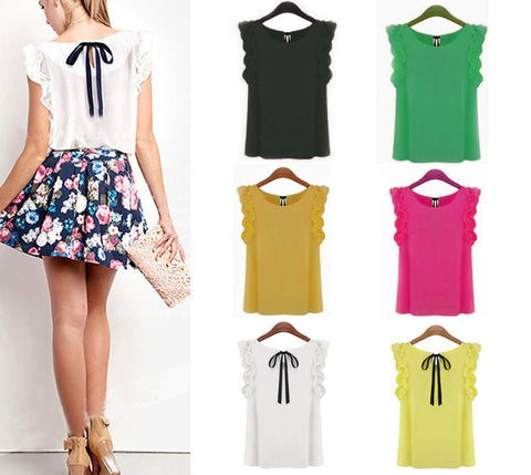 """Go To"" Blouse In A Rainbow Of Colors"