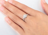 Arrows, Hearts & Flower CZ Diamond Engagement Ring (Only 10 left of each size)