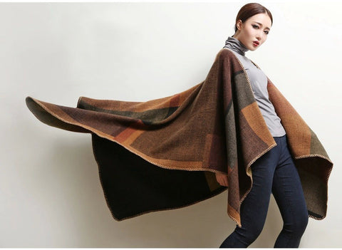 Cashemere Poncho or Cape -  Vintage Cool