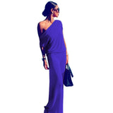 SOLD OUT! But check back as we hunt to fill this! Our One Shoulder Sexy Maxi Dress - Wear it Beach To Bar!