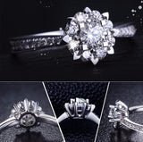 Arrows, Hearts or Flower  Engagement Ring